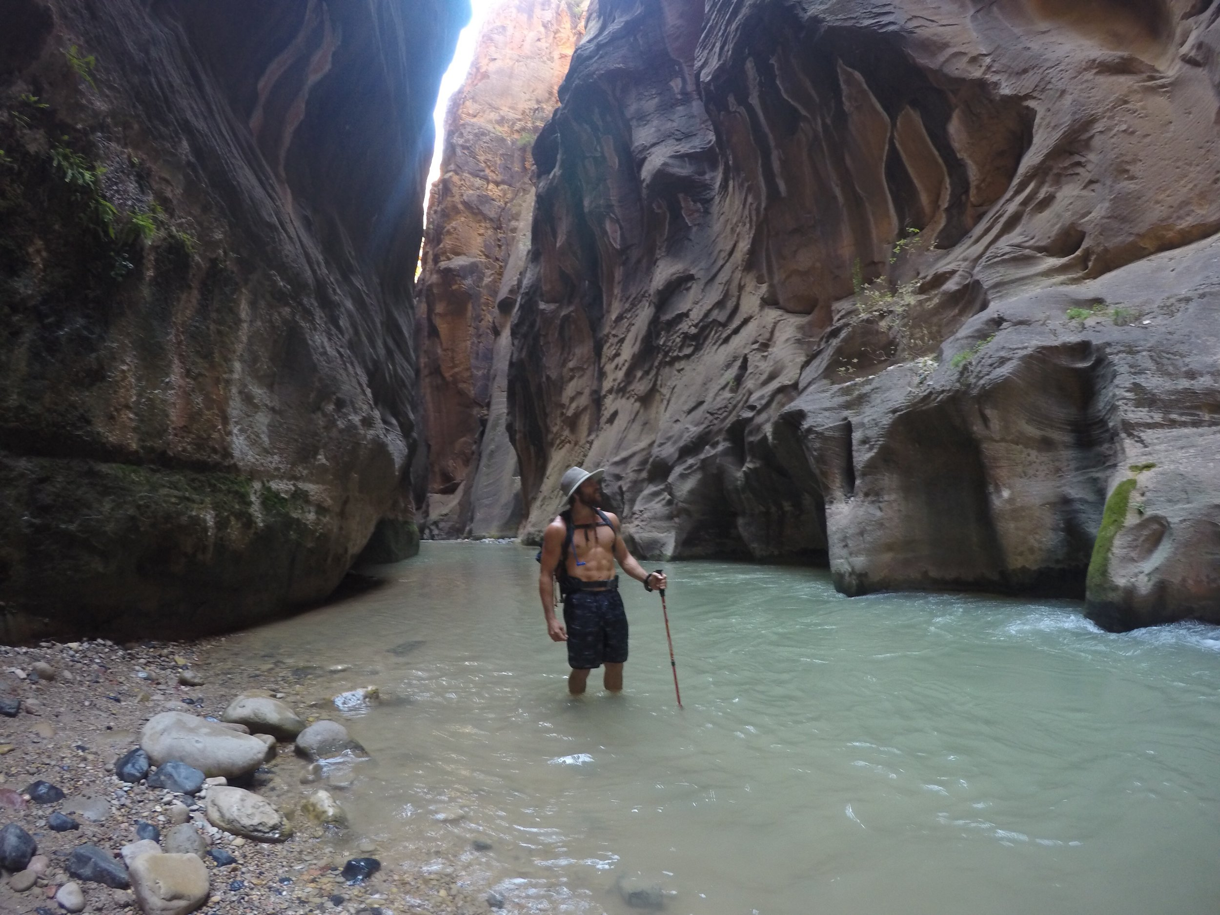 Aaron at The Narrows, Zion National Park, Utah - 3 Days*