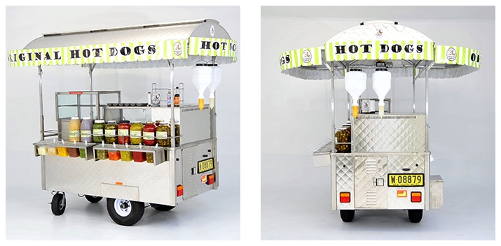 Hot Dog Cart Yummy Dogs