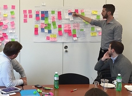Running an IBM Design workshop for UBS in Zurich