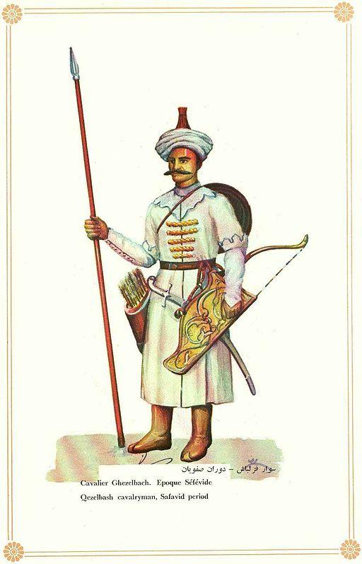 A Kizilbash soldier.