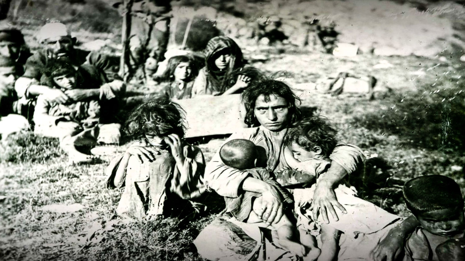 Villagers in Dersim, who were reportedly killed soon after this photo was taken.