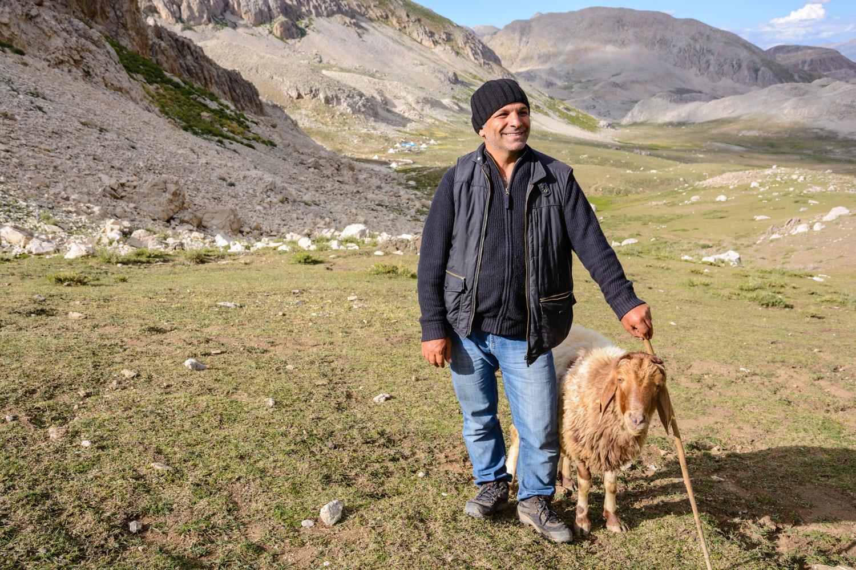 Ergül Kıluçer, in the Munzur Mountains.