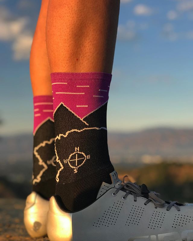 New Fall collection coming soon! Introducing Mt. Wilson Twilight.  #repyourroute #volaractive #madeintheusa