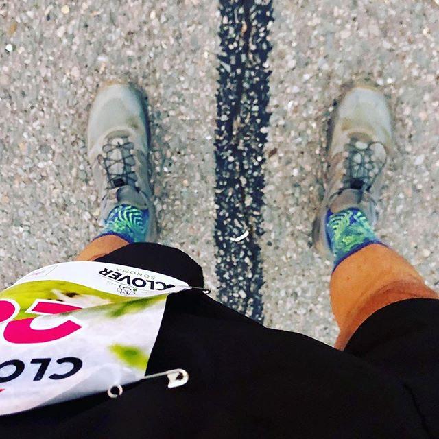 👍🏽👊🏽⚡️Yeah @matthewfabiano ・・・ Let's #run #raceday #halfmarathon #clocowhalf #volaractive #toposocks
