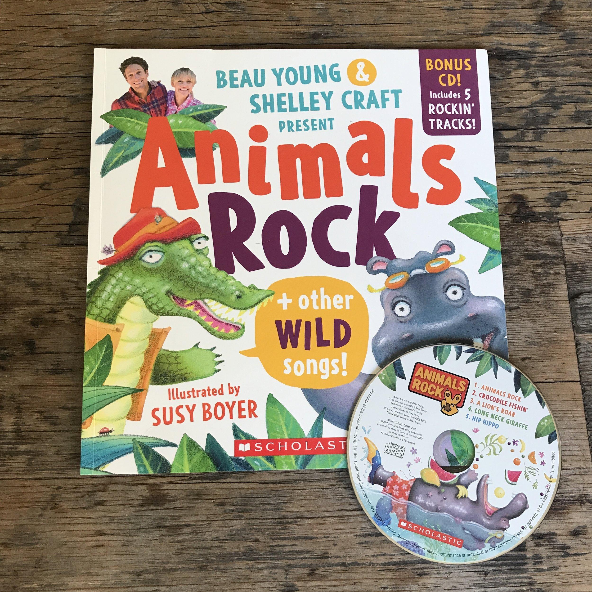 Animals Rock and Other Wild Songs