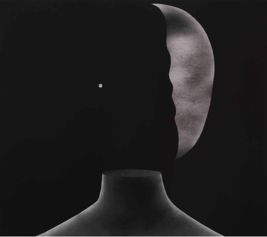 Head #15, 2013, Silver gelatin print on archival paper, 80 x 90 cm, Courtesy Galerie Item, Paris