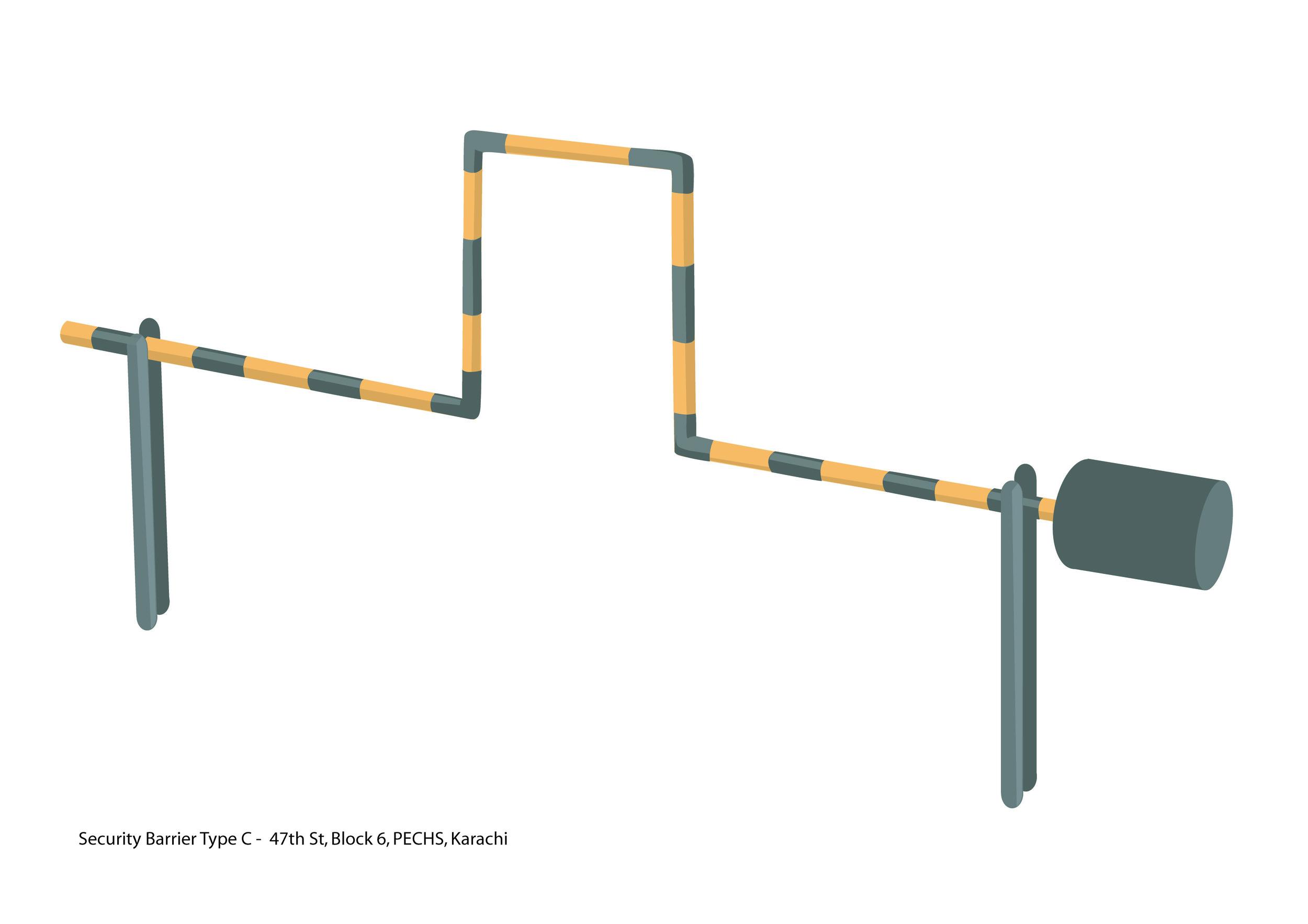 Security Barrier Type C