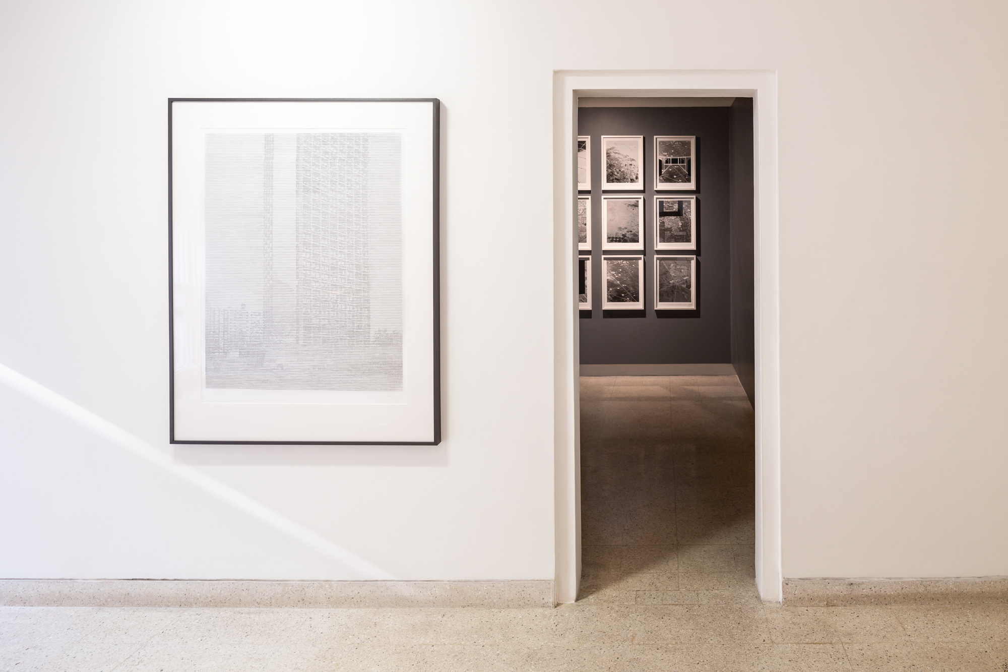 """Seher Shah, """"Of Absence and Weight"""", 21 December 2016 – 11 February 2017, Nature Morte, New Delhi. Image courtesy Randhir Singh for Nature Morte."""