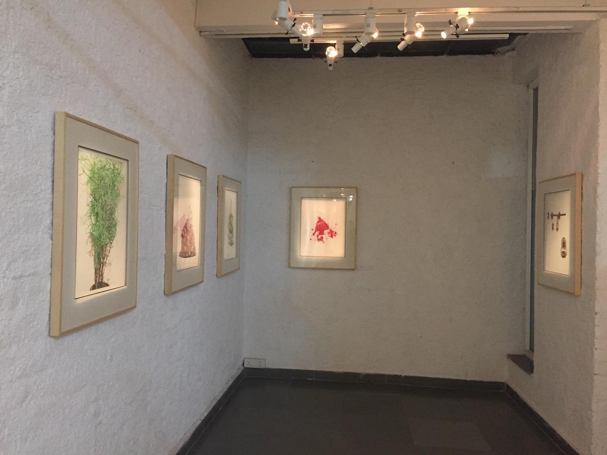 "V. Ramesh, ""In My Own Words…"", 13 January – 10 March 2017, Gallery Threshold, New Delhi. Image courtesy Gallery Threshold."