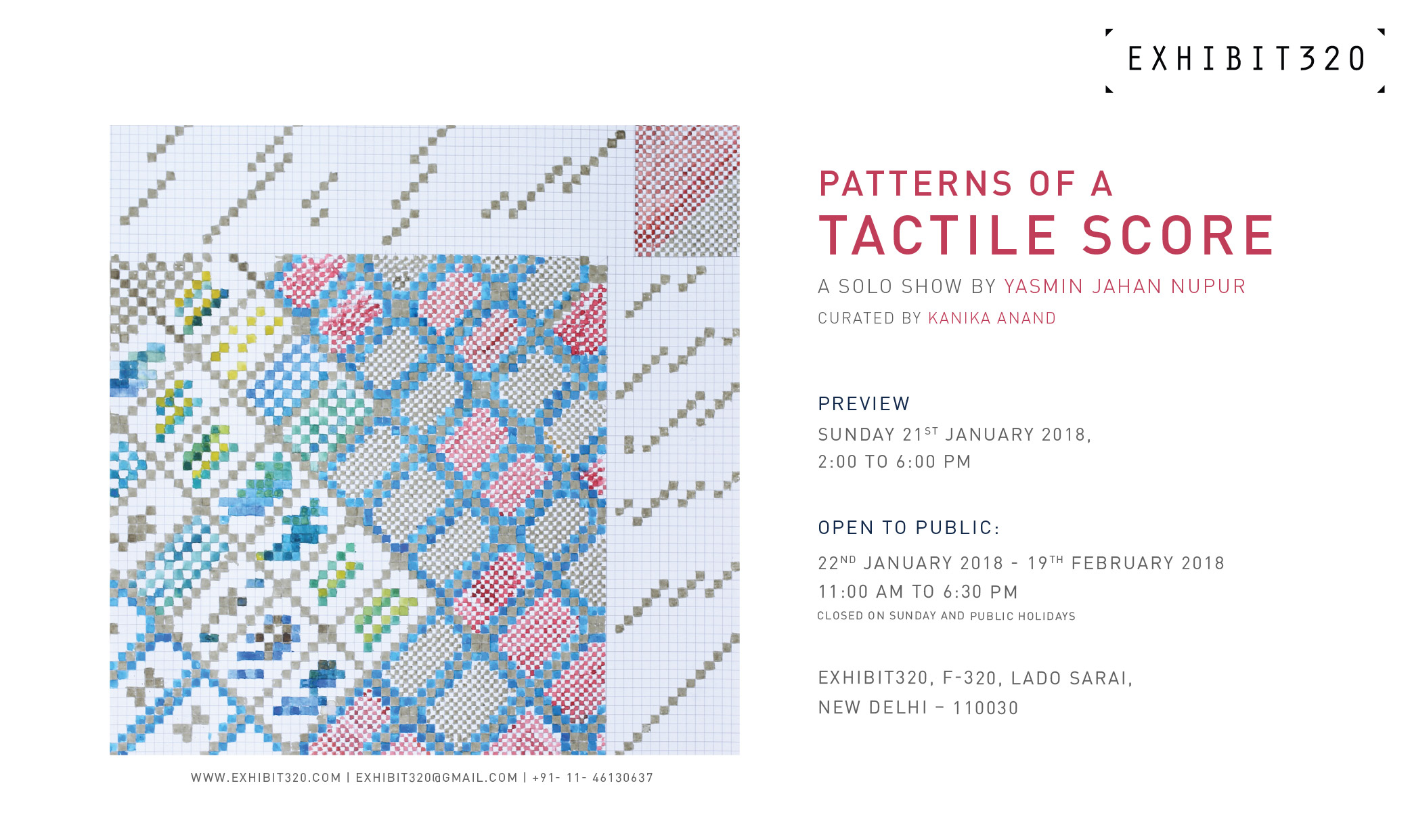 Invite | Patterns of a Tactile Score | Solo show by Yasmin Jahan Nupur.jpg