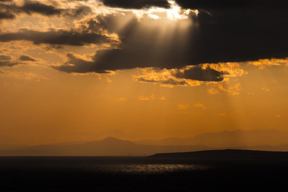 The view from Cape Greco towards Aya Napa.