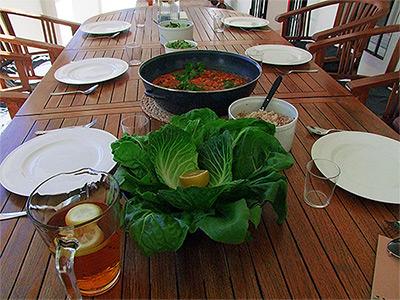 olive retreat spain vegan food detox