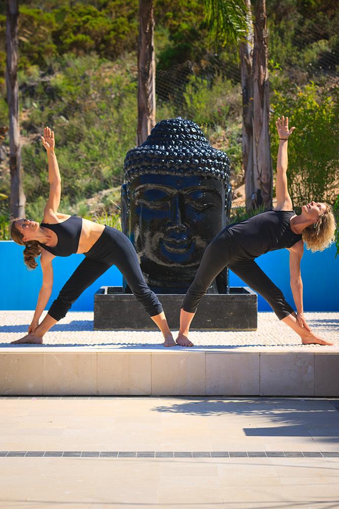 Yoga event to practice auto corrections
