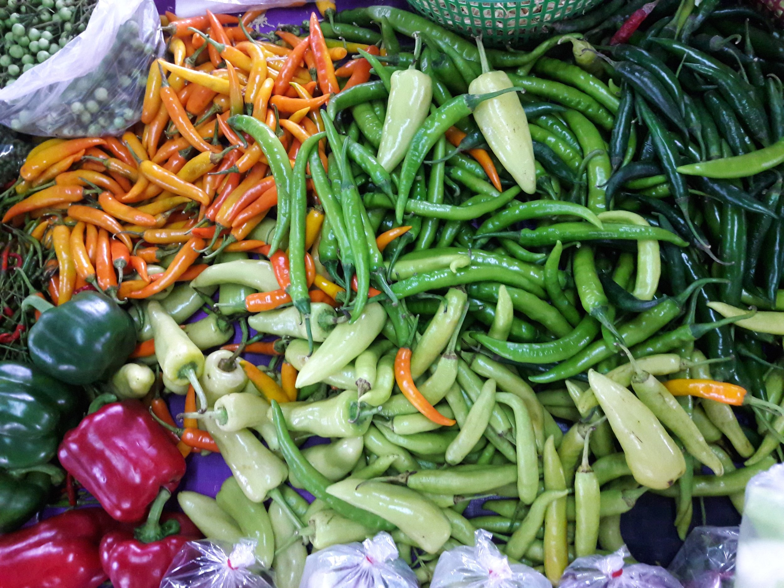 We call our food Rustic - it's healthy, easy, colorful and quick to cook.