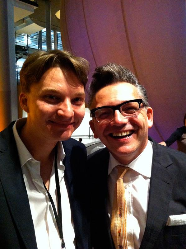 With Götz Alsmann