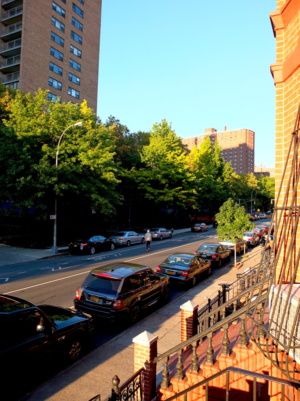 On Lafayette Avenue.