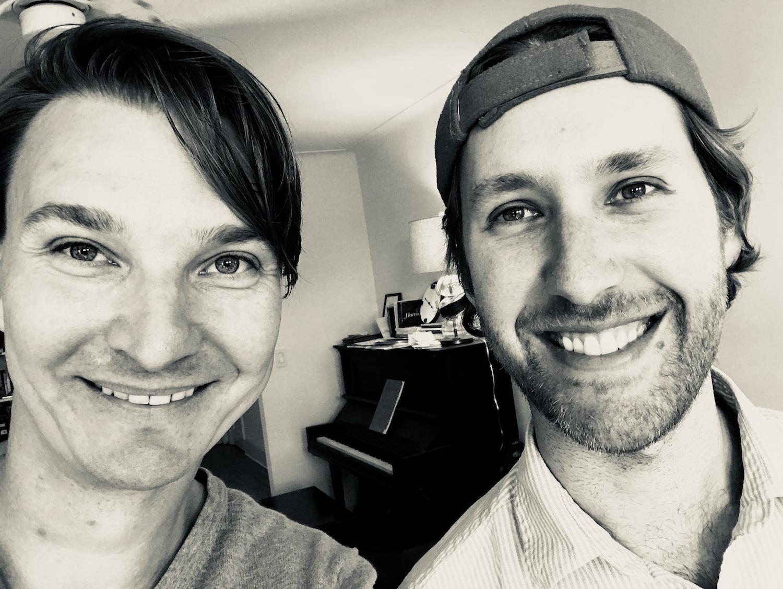Max Frankl and Nir Felder in Brooklyn, NYC | 2017