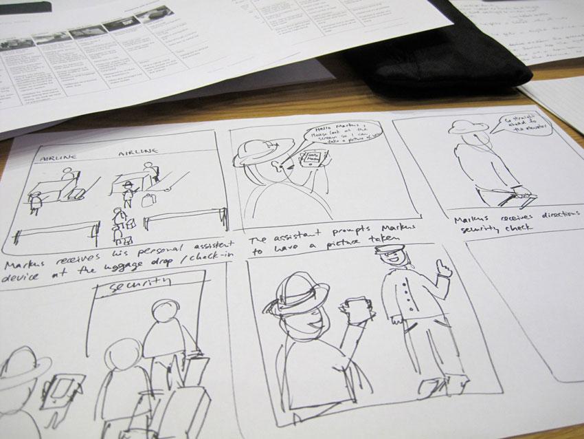 Customer journey storyboard by visualpun.ch/flickr
