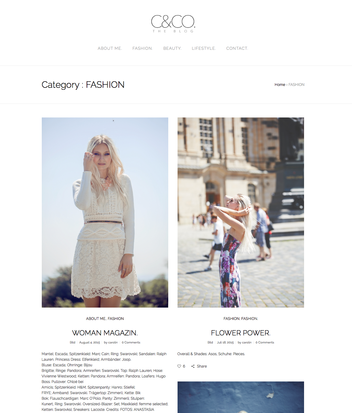 Blog Carolin Niemczyk