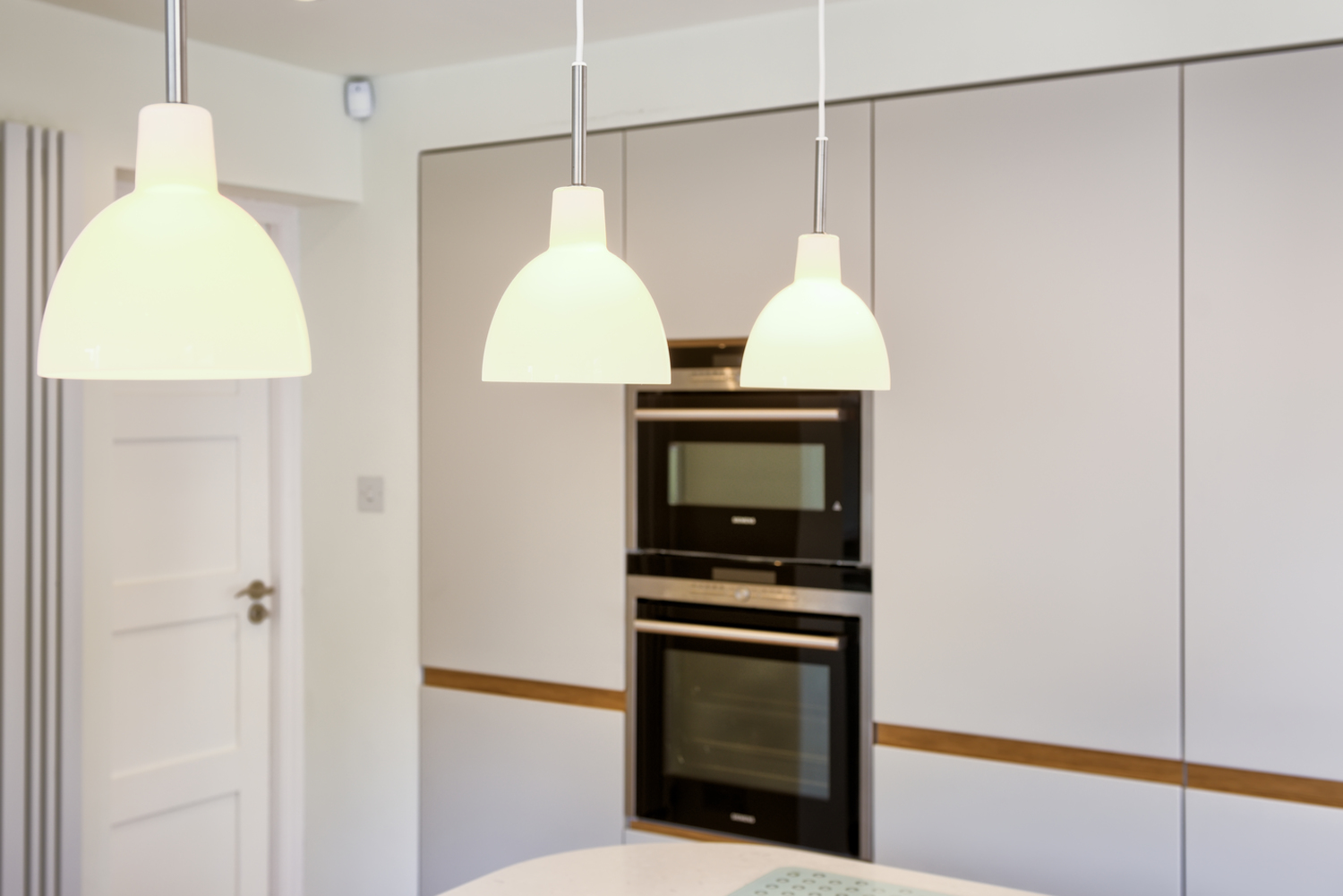 More lights of a Scandinavian house extension by Harvey Norman Architects Bishop's Stortford