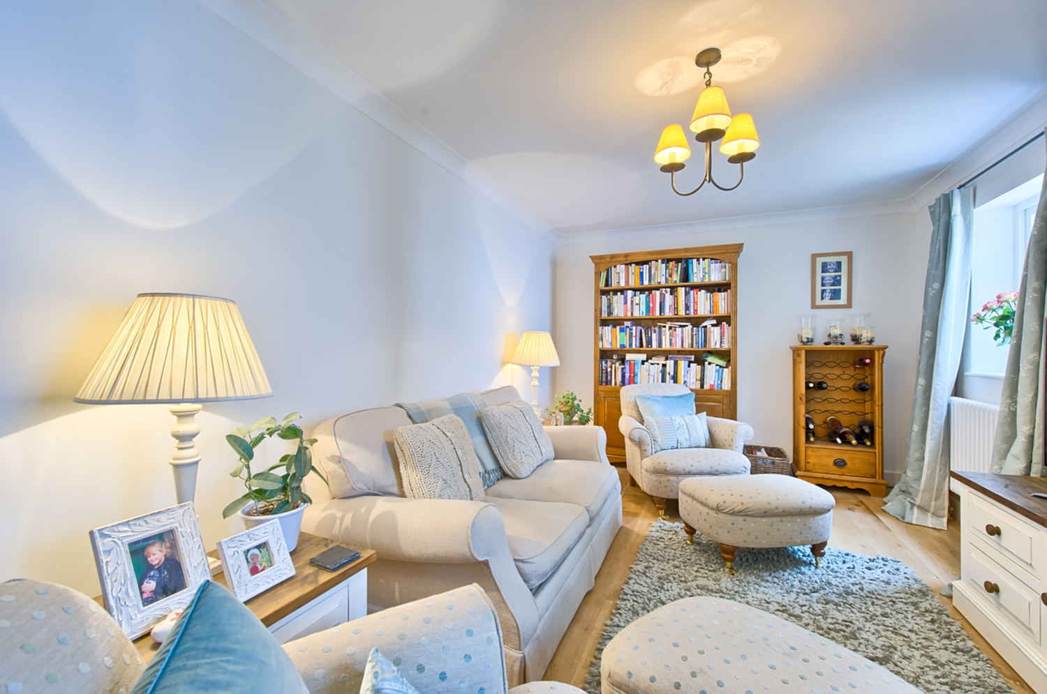 Cosy sitting room of a house redesign by Harvey Norman Architects Cambridge