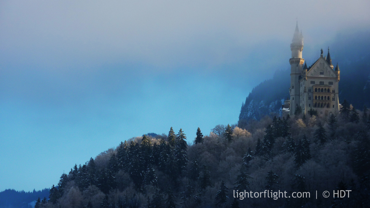 Neuschwanstein Castle - Winter
