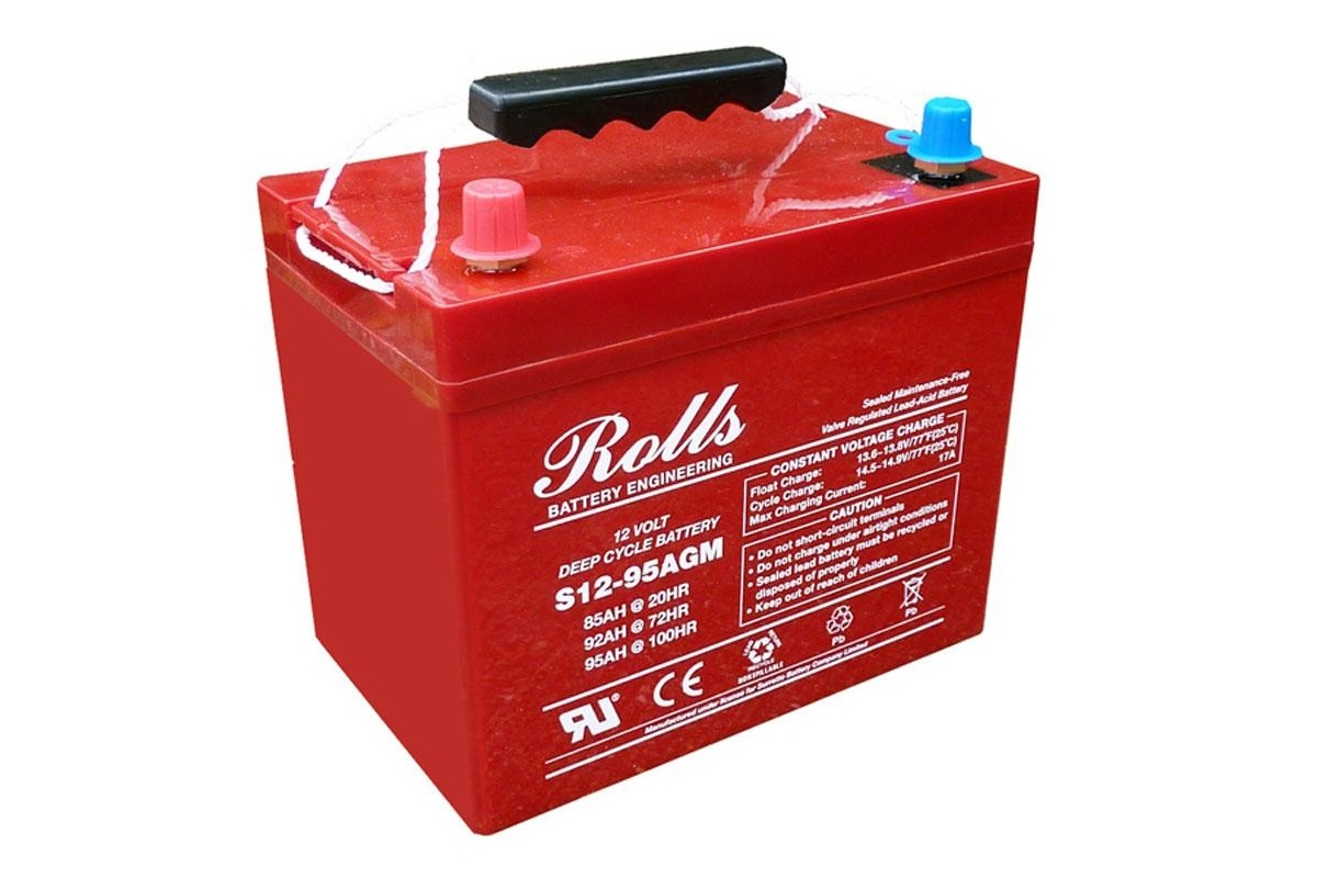 Batteries - When using batteries as a source of stored power for service functions, you need to consider they will be subject to different operational regimes than when used as a vehicle engine start battery. AGM technology from Rolls has proven to be very tolerant of excessive discharge and has very high performance and long life.