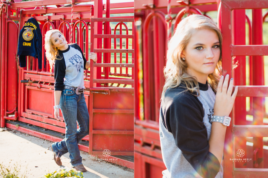 Best FFA Country Girl on a Farm Senior Pictures in Southwest Missouri