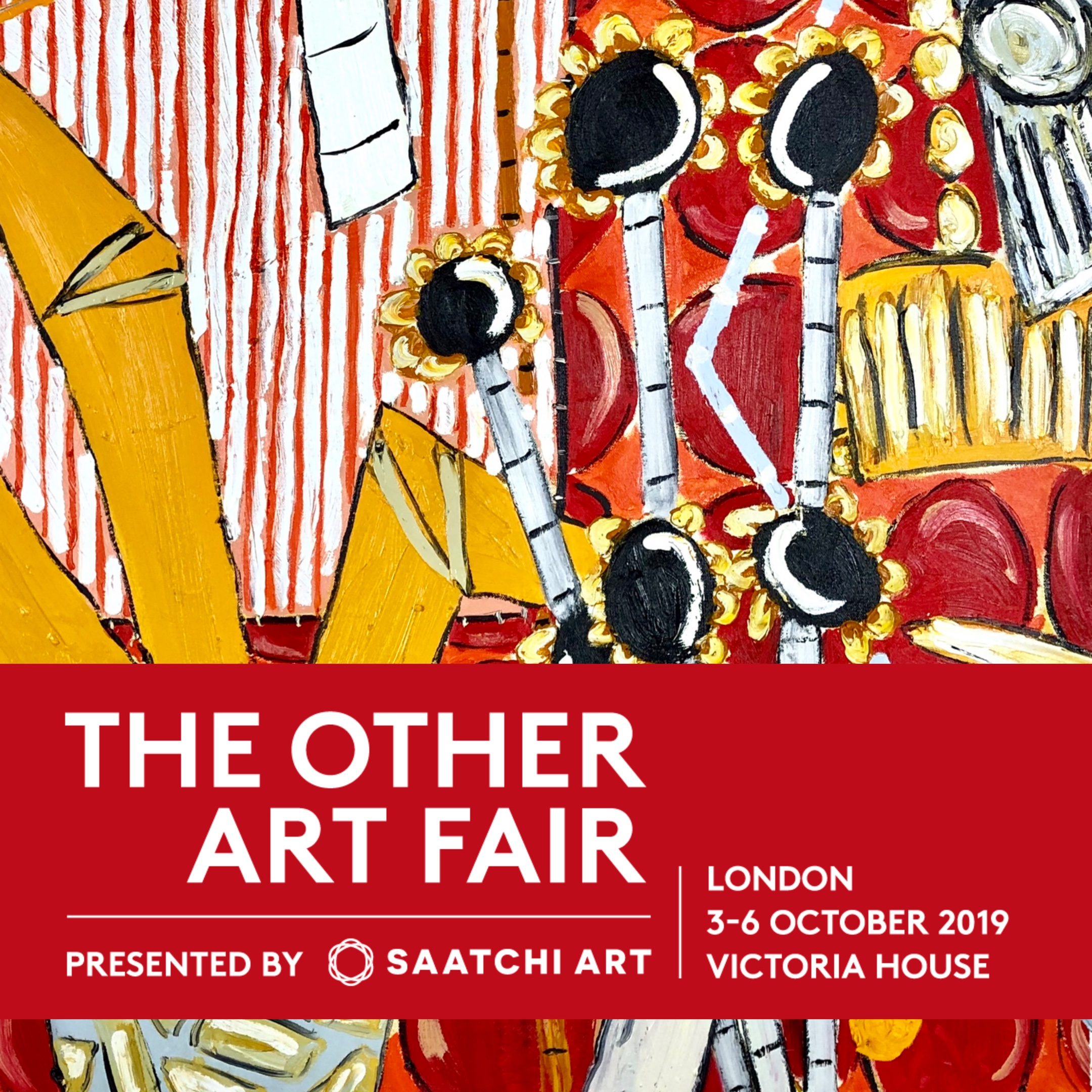 The Other Art Fair, London - In October I'll be heading to Victoria House, London. If you would like to attend use code: 'Cumming' for complimentary tickets.