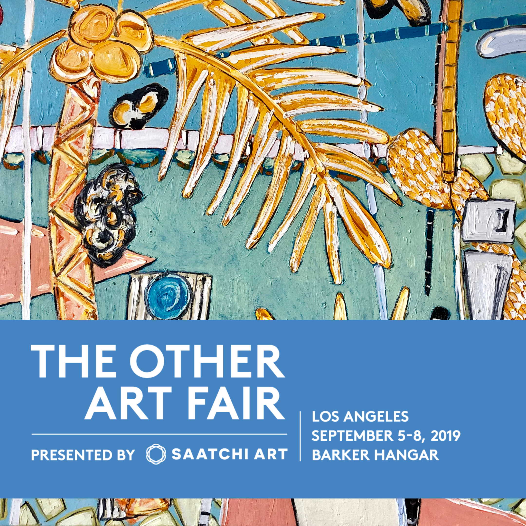 The Other Art Fair LA - I return to the Barker Hanger, Santa Monica, Sept 5th - 8th for the Other Art Fair LA. If you would like to attend use my promo code: 'ACumming' for complimentary tickets.