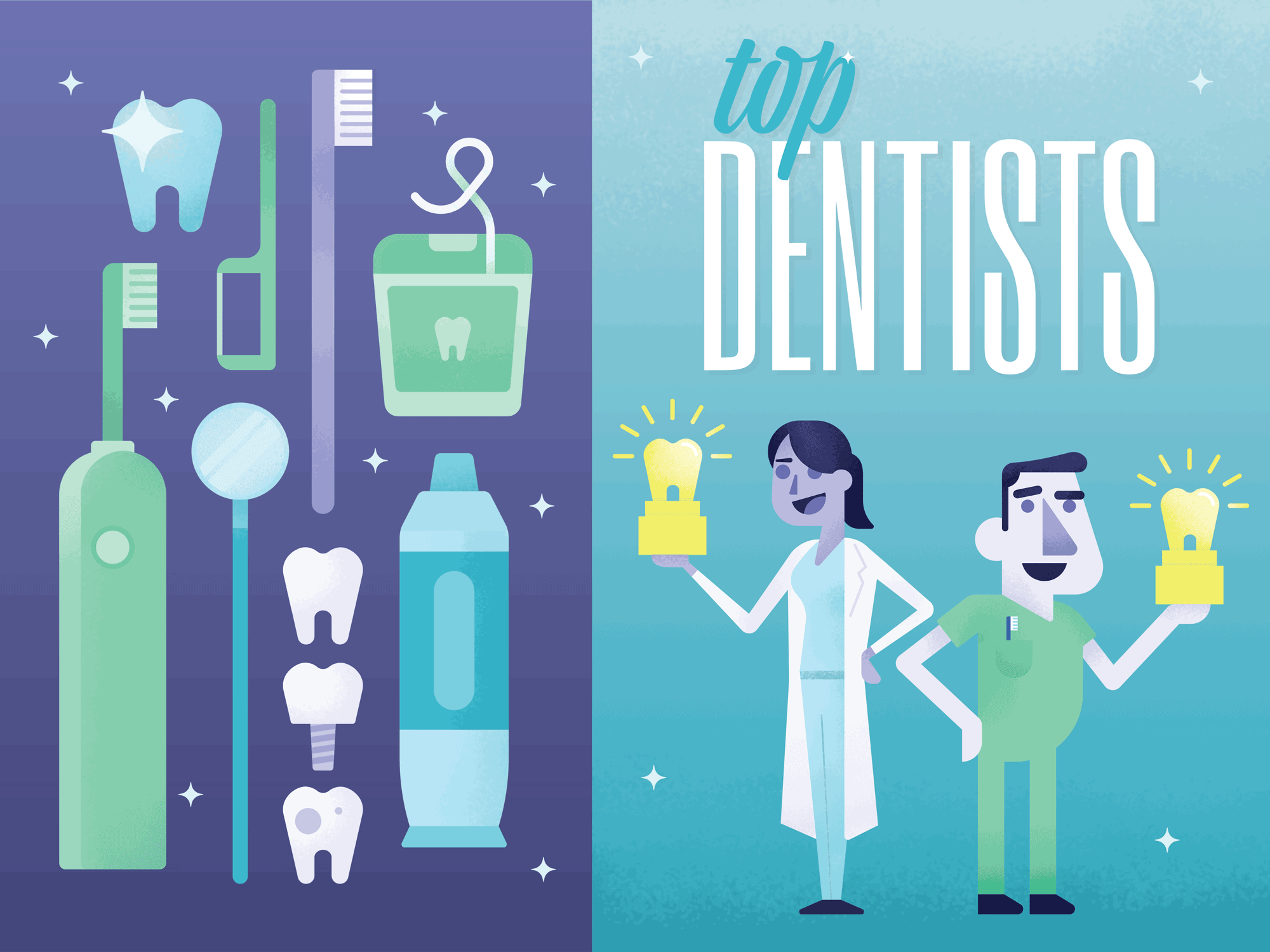 """Top Dentists"" for August 2017 issue of  417 Magazine"