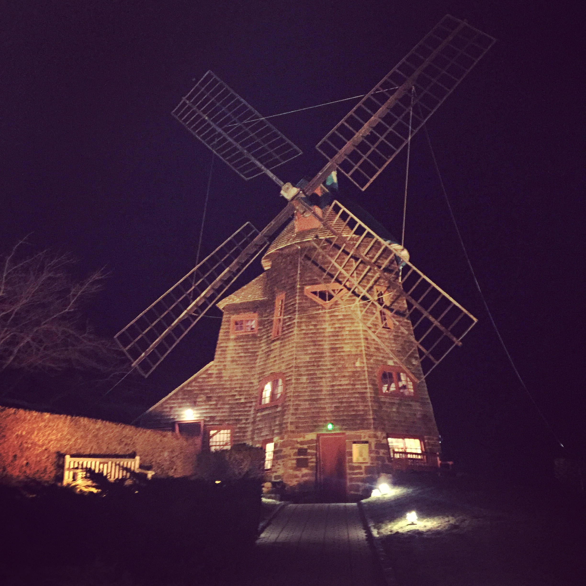 The windmill Tennessee Williams rented and lived in while writing several of his plays, on campus at SUNY-Stony Brook Southampton, where Lauren completed her Children's Literature Fellowship.