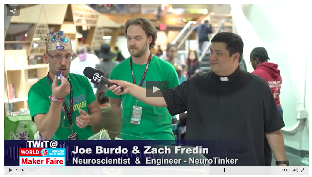 Watch our interview with This Week in Technology from the 2016 World Maker Faire in NYC