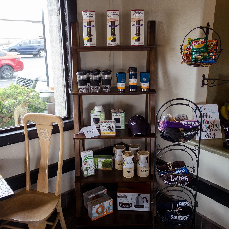 Local Coffee Shop Merchandise