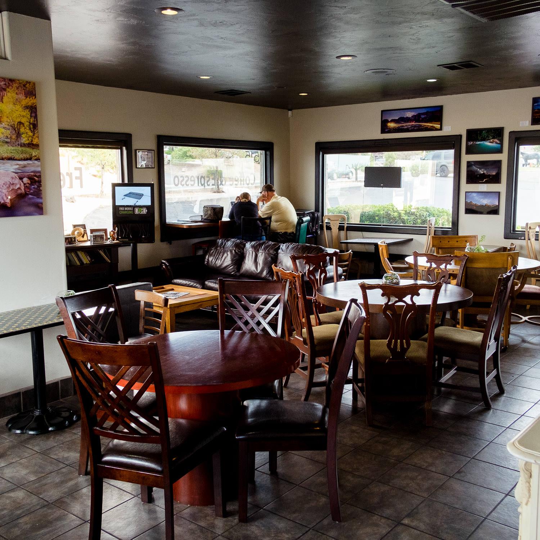 Saint George Local Coffee Shop Sunset Cafe