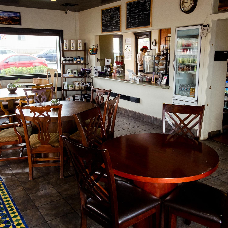 Sunset Blvd Local Coffee shop