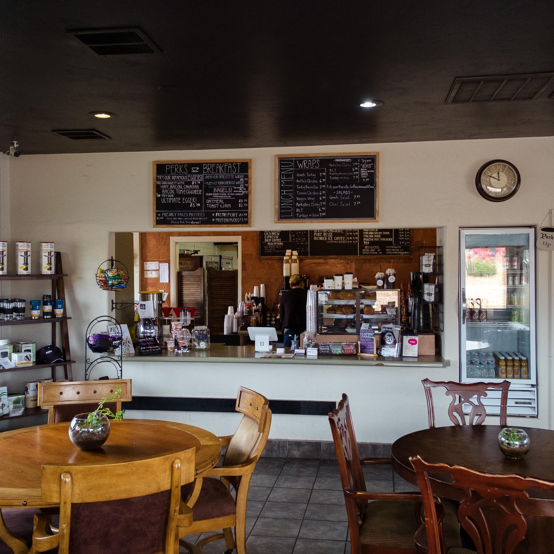 Perks Espresso and Smoothie local utah coffee shop