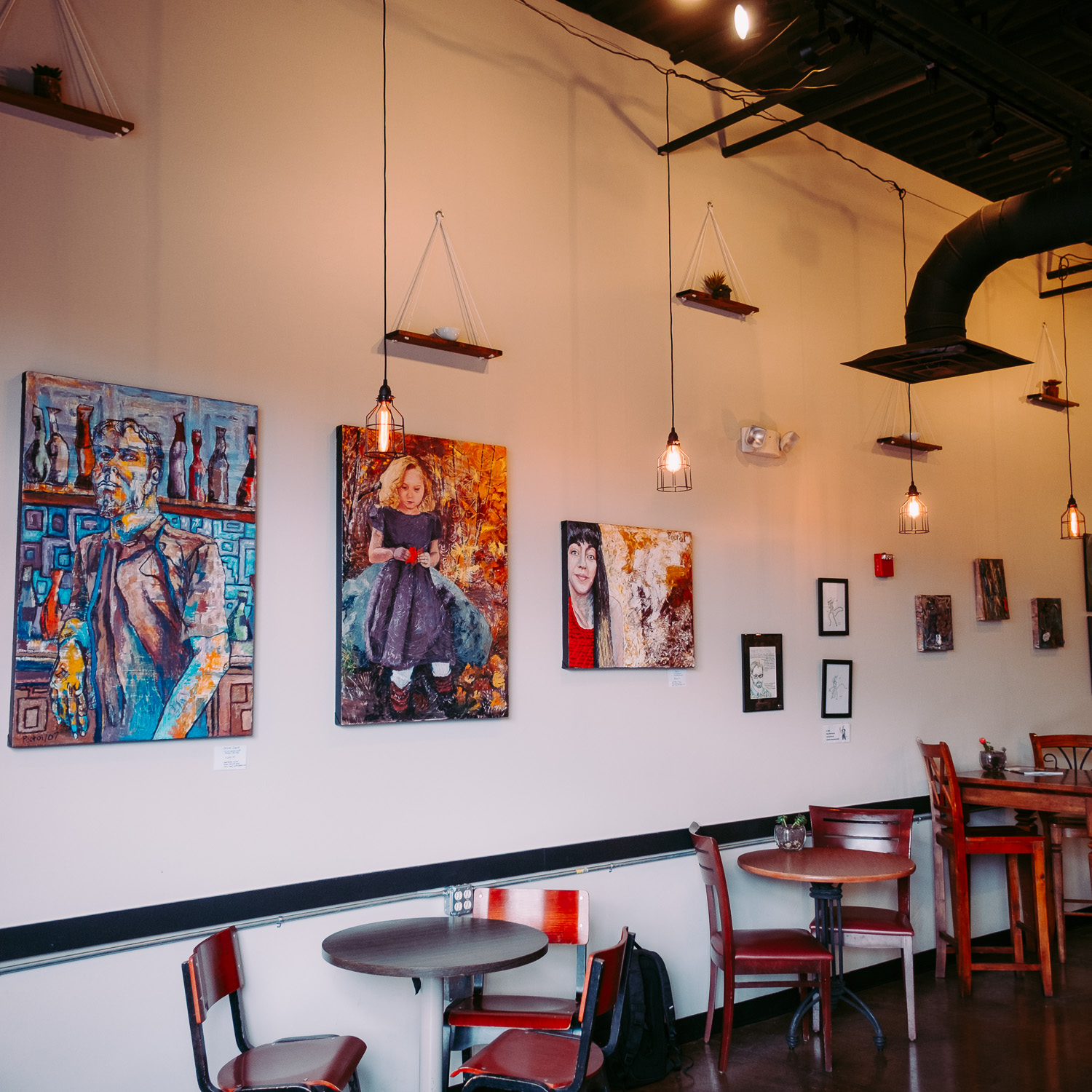 Local artist featured at coffee shop