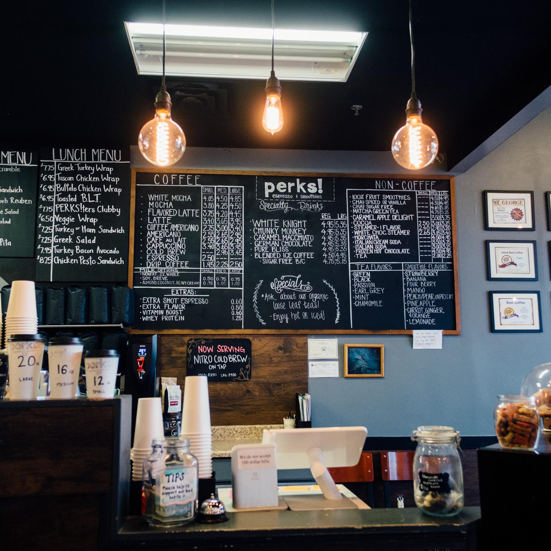 St. George Utah Local Coffee Shop Cafe