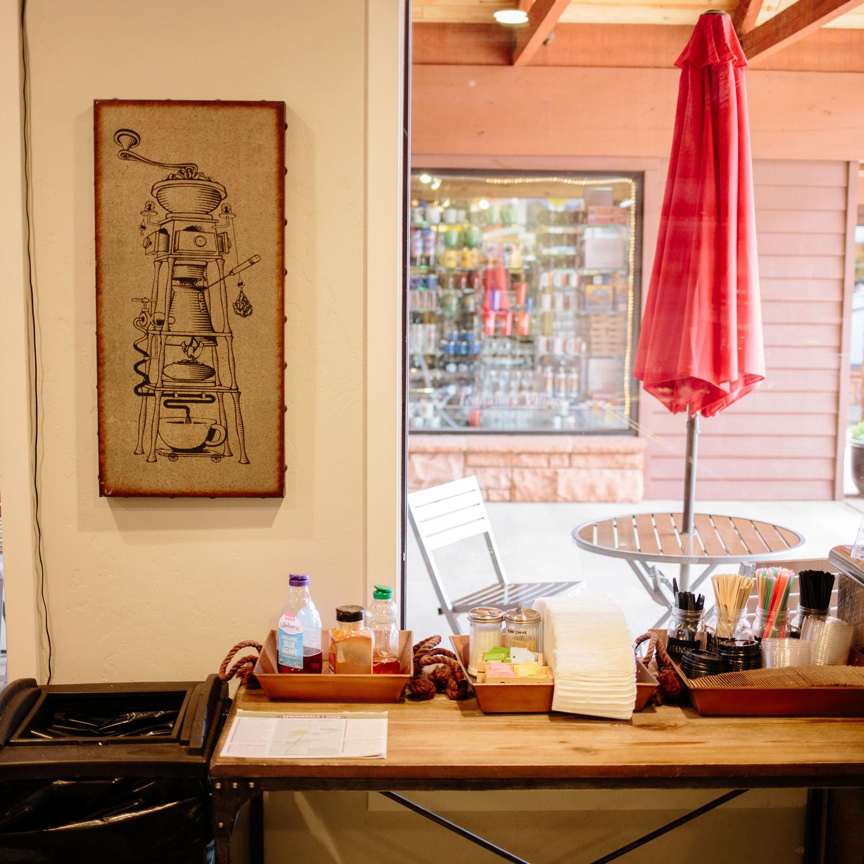 Perks at Zion cafe Springdale Utah