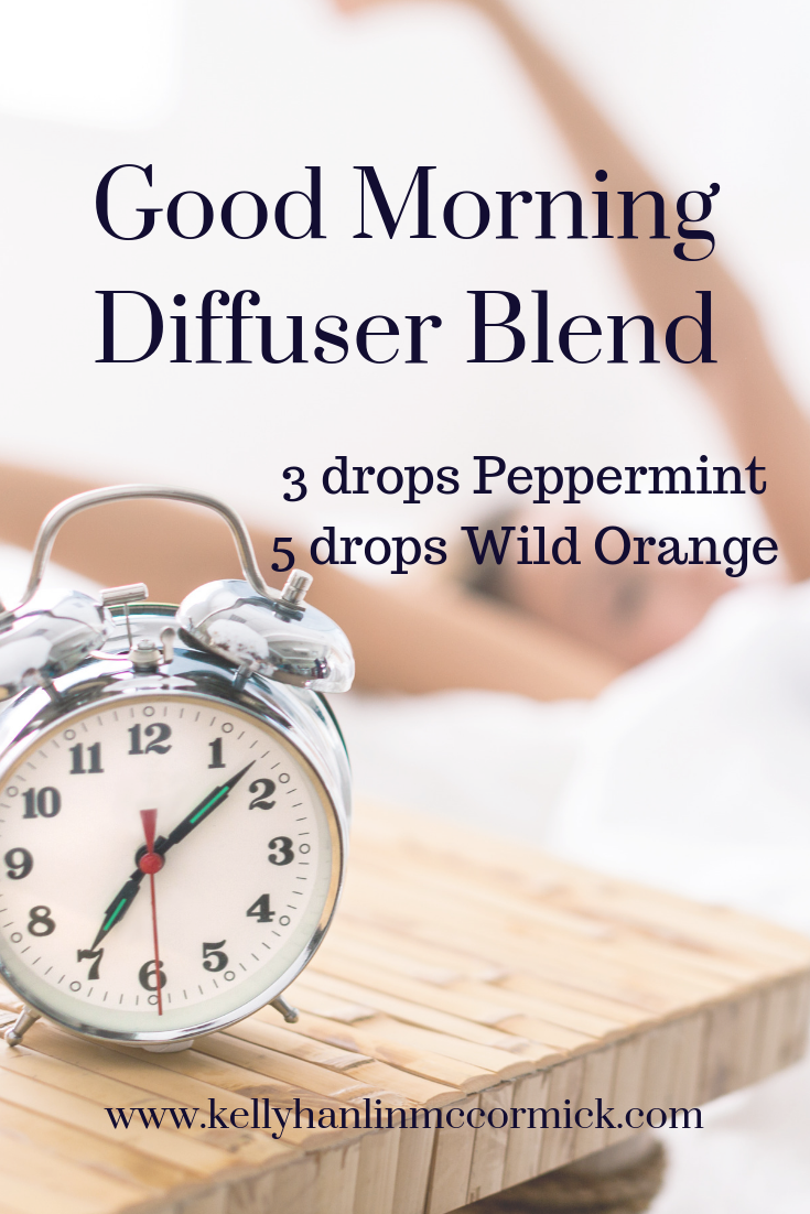 Good Morning Diffuser Blend - Kelly Hanlin McCormick