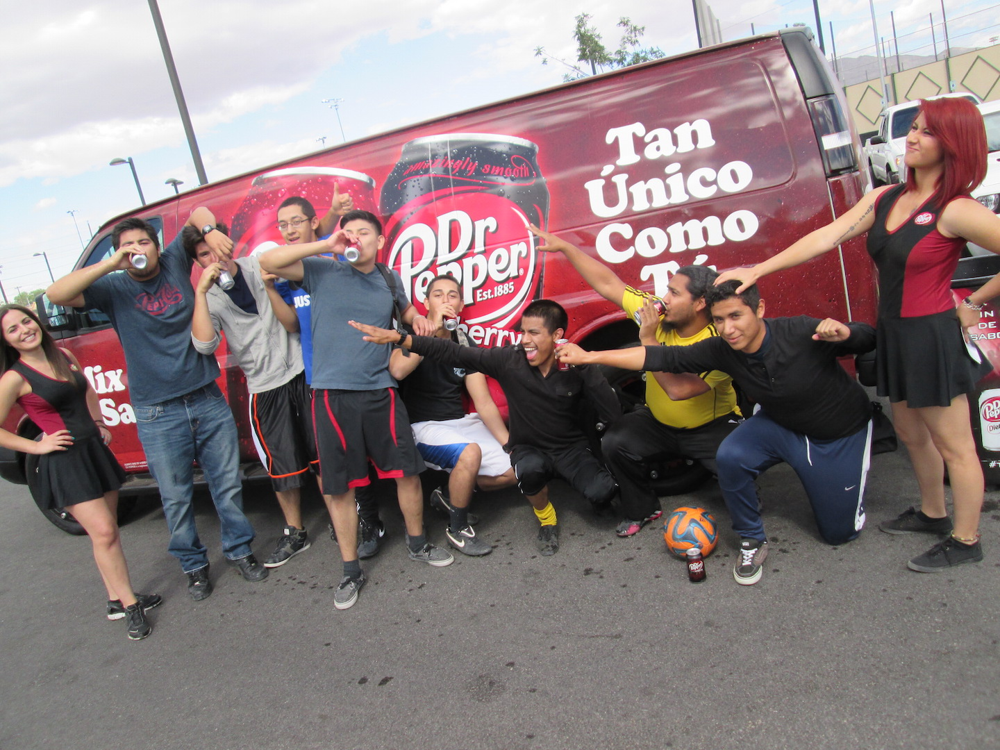 Dr Pepper Vida Van Program