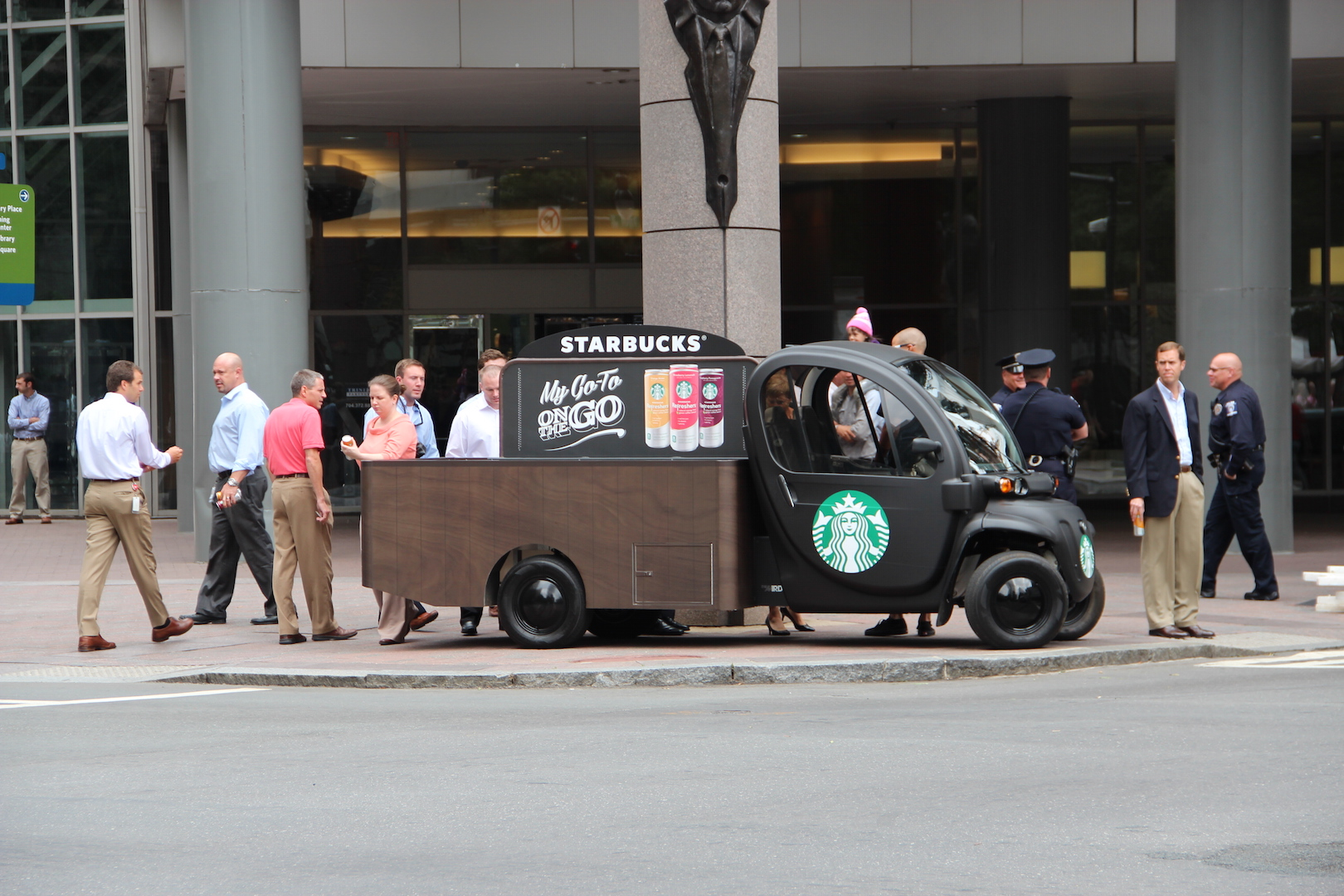 Starbucks Refreshers Product Launch Promotional Tour