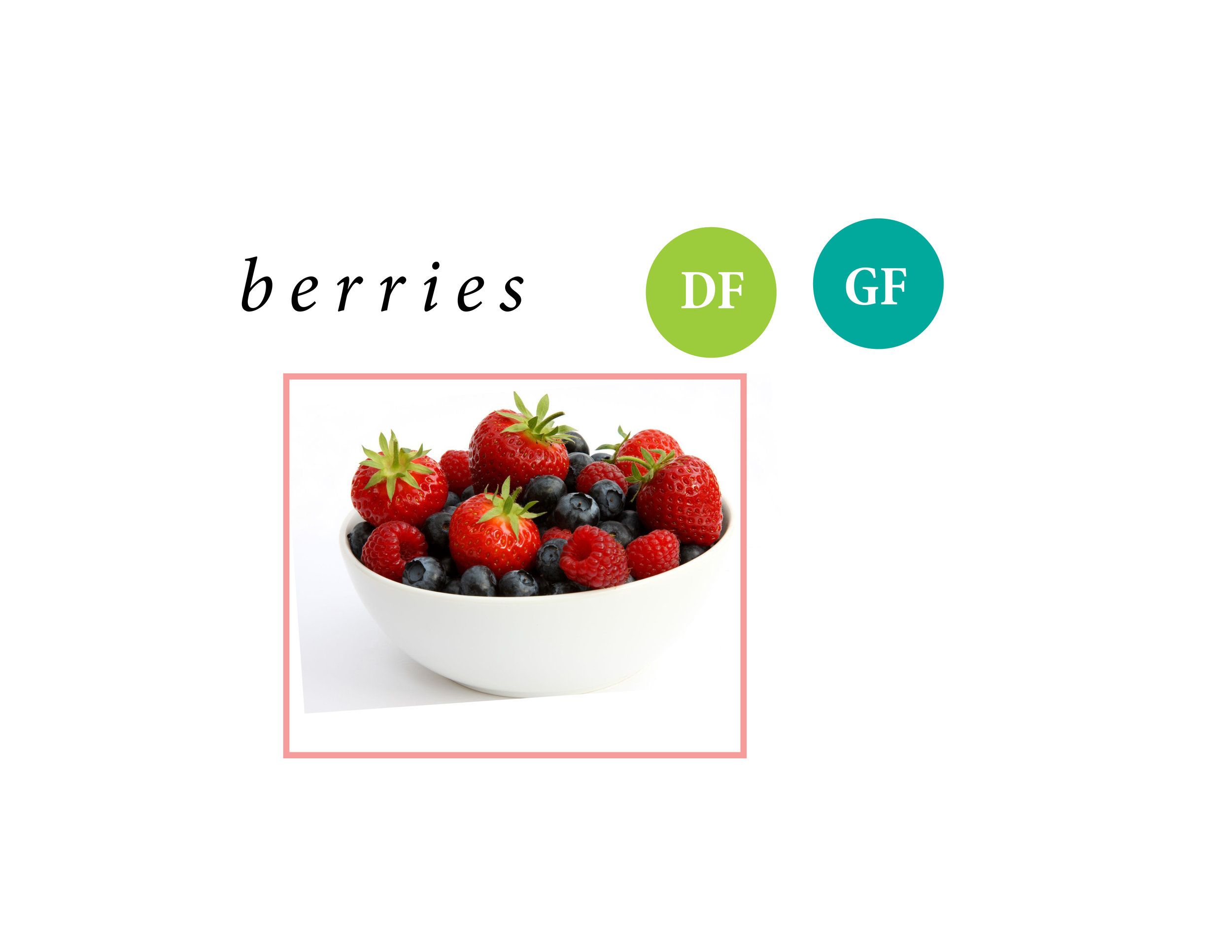 Berries are just always a good idea. I get that sugary sensation that I just have to have something sweet. This is my go to. They're easy to package, take on the go, throw in a smoothie or some granola (like the Purely Elizabeth), or freeze and add to your water on a hot day. It's just always good to be stocked up on some berries, especially in the spring + summer season.