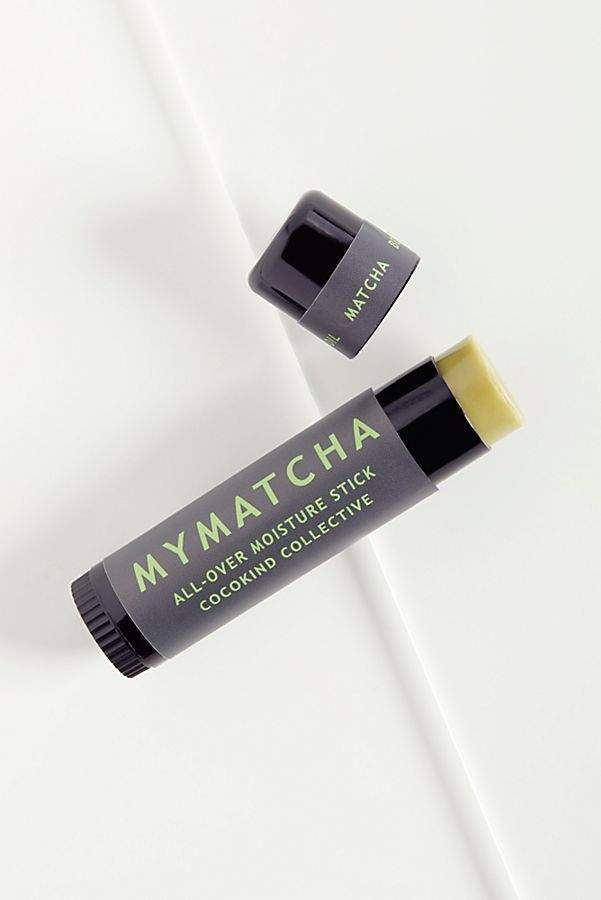 Matcha Stick - I carry this around everywhere with me (flights, groceries, in my purse) it's the best for quick hydration on your lips, dry spots or under the eyes. The matcha moisturizes super quickly!