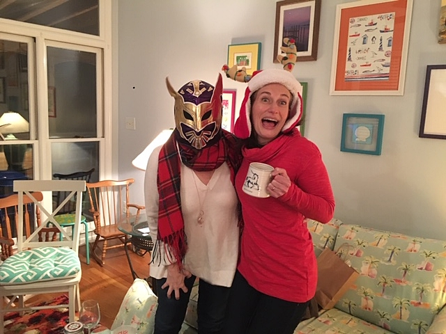 Results from the Holiday Challenge offer this much joy!!! Funny hats and masks are not required (but are always welcome).