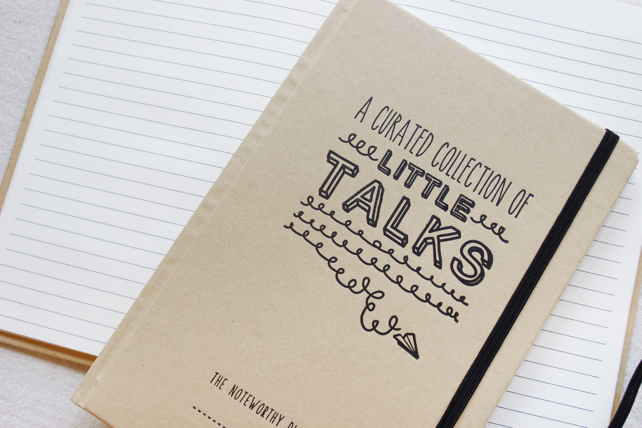 Little Talks letterpress jotter / to keep track of those mispronounced words and epic toddler conversations you are bound to have.  SEE IT IN THE SHOP.