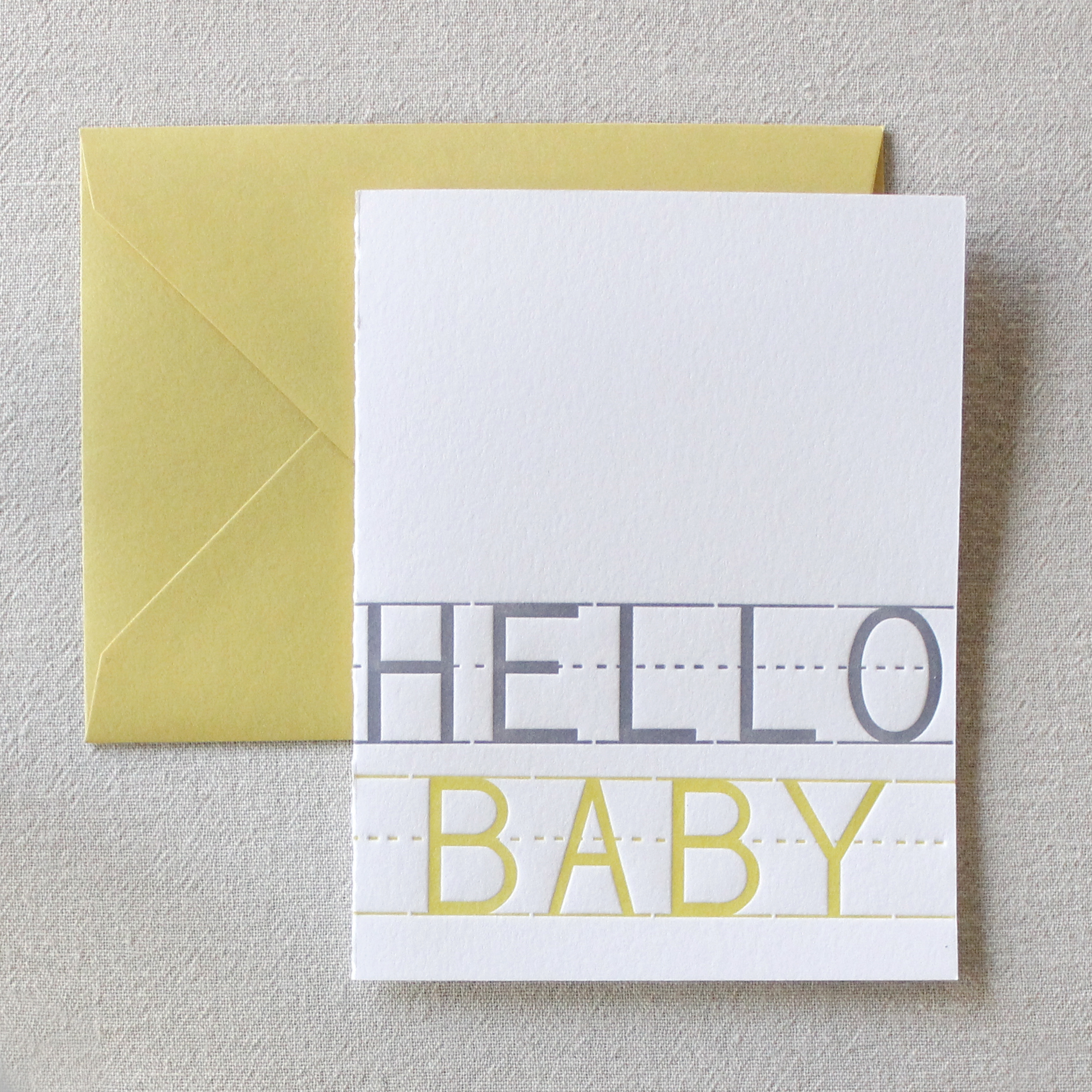 A greeting card to well ....greet the new baby on the way.  SEE IT IN THE SHOP .