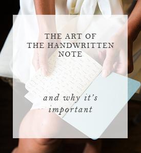 The art of the handwritten note.jpg