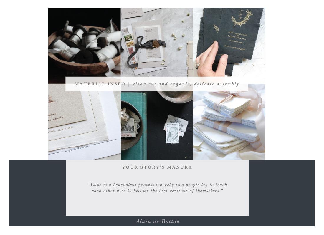 custom stationery by Hope Johnson